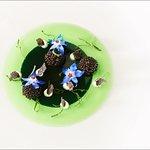 Kaviar mit Gurkengelee