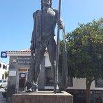 Статуя гуанча