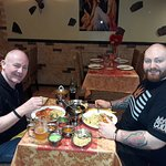 mr.tom and mr.ritchie restaurante indian express tandoori and curry