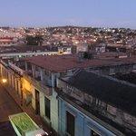 Blick von der Dachterrasse über Matanzas