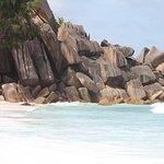 excellent rock formation of grand anse