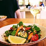 Lunch in a beachside cafe - Wildlife, Waterfalls and Wine full day tour