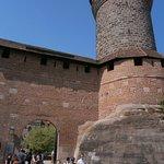Subida al castillo de Nuremberga, muy bien consevado