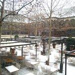 Winter wonderland at Restaurant Hanu' lui Manuc