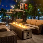 You'll love our patio in the evening!