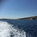Cruising out of port