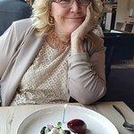 The WK Pavlova was an incredible dessert
