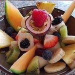 Bordje vers fruit