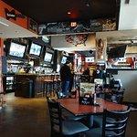 Photo of the inside portion of Bobby Hubert's restaurant.