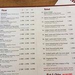 Kebabhusid menu