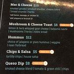 Vegan menu options