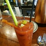 BBQ Bloody Mary - spicy and delicious!