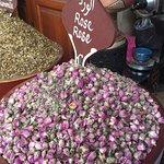 Suq von Marrakesch Foto