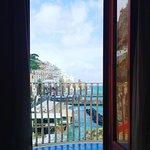 Esta es la vista desde mi habitación, ame despertarme todos los días con el ruido del mar