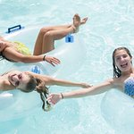 The Blue Nile adventure river is fun for the entire family at Camelbeach