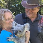 It's hard not to smile when you're holding a koala!