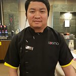 Malone - the friendly member of staff