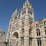 The grand Natural History Museum's exterior