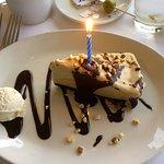 Free birthday mud pie.