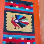 Weaving at entrance