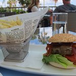 Serious burger without the egg. Delicious!