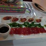 sashimi and ceviche- tuna, wow!