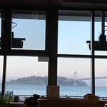 The view from the oyster bar.