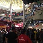 Main atrium of shopping mall