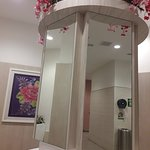 BEST TOILETS AMONG OTHER OUTLETS..   SPACIOUS..CLEANLINESS IS BEST..