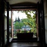 Der Blick hinüber nach Görlitz im oberen Stockwerk