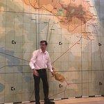 Stefan doing a great job at the Lascaris War Rooms, Valletta, Malta