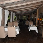 Out-door restaurant at the veranda!