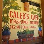 Bilde fra Caleb's Cafe