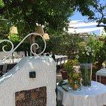 vista del ristorante Il Giardino