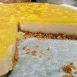 Cheesecake vegana cocco e ananas senza zucchero