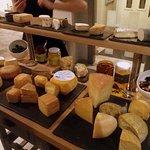 Plateau de fromages intéressant
