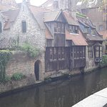 The rear of Bonifacius right on (or in!) the canal