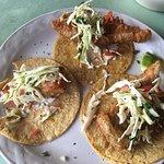 Black grouper tacos...already took one bite:)