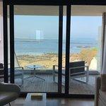 Chambre terrasse moderne vue sur mer