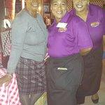 Avis, Anna and Patty, Treasure Cay Bistro
