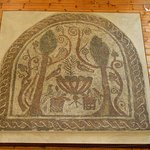 The Paradise Mosaic - from the Basilica of St. Sofia - 4th century A.D.