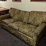 Crime scene sofa