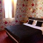 Room #42. Very comfortable bed, very quiet.
