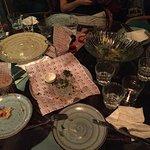 Aparatifler geldi ve bir daha masayaa kimse ugramadı.  Durum bu !!!