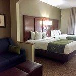 Double Queen Suite - Sleeps 6. Brand new furniture & Beds!