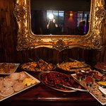 Buffet food for private party