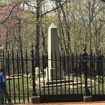 Jefferson's grave site