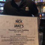 1st trip to Nick & Jake's, although it will definitely be a place I bring family and friends to