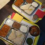обед, самосы, масала