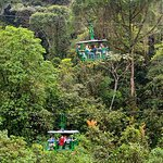 Aerial Tram at the Braulio Carillo rain-forest national park.